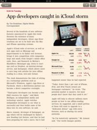 iPad : la presse se va-t-elle se rebiffer ? | A propos de l'avenir de la presse | Scoop.it