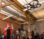 AR Drone That Infects Other Drones With Virus Wins DroneGames | Rise of the Drones | Scoop.it