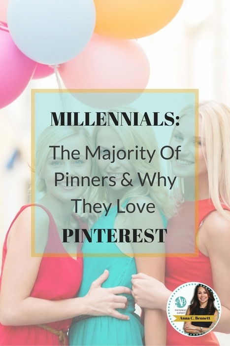 Millennials: The Majority of Pinners & Why They Love Pinterest   Pinterest   Scoop.it