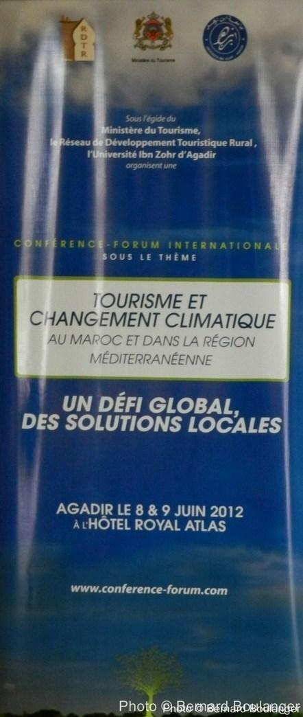 A Agadir : Conférence Tourisme et Changement Climatique… | Ecotourisme au Maroc | Scoop.it