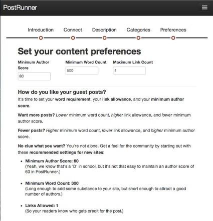 PostRunner: The Best Guest Blogging Platform Out ... - Daily Blog Tips | Internet Entrepreneurship Tips to Make Money Online | Scoop.it
