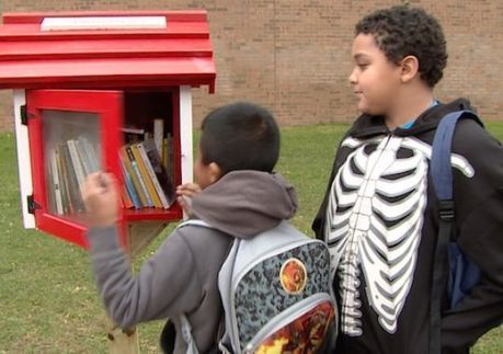See the Possible: Little Free Libraries come to Fairfax | Reading discovery | Scoop.it