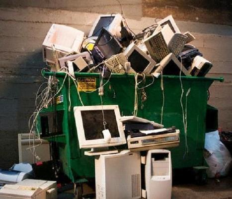 El total de la basura electrónica es...   Noticias del planeta   Scoop.it