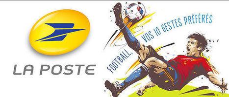 La Poste lance des timbres en 3D pour l'Euro de football qui sentent le gazon   Les Postes et la technologie   Scoop.it