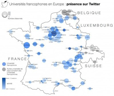 Universités & Numérique : [Rapport] Présence des universités francophones d'Europe sur Twitter | Higher Education, Research & Knowledge Management | Scoop.it