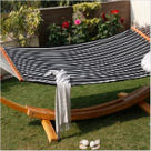 Black and White Quilted Hammock- Patio Furnitur | amberhomegoods | Scoop.it