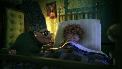 "In this Oscar-nominated short, a grim grandma turns ""Sleeping Beauty"" into a twisted tale 