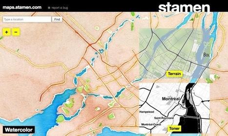 Stamen Design reinvents cartographic design | Urban Life | Scoop.it
