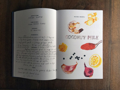 Curries, Stews, and an Abramovic Aphrodisiac: Admir Jahic and Comenius Roethlisberger Discuss Their Book of Artists' Recipes | ARTnews | ArtTechFood | Scoop.it