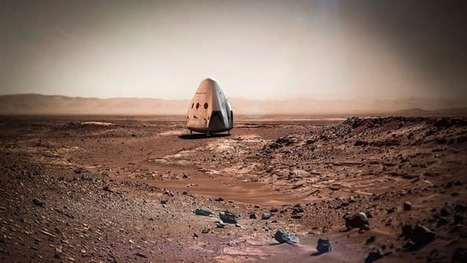 SpaceX fast-tracks Mars plans and shoots for 2018 launch of unmanned lander   Long Life   Scoop.it