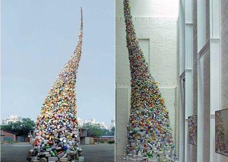 Wervelwind van afval -installatie | Creatief Hergebruik | Scoop.it