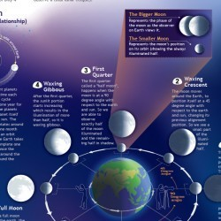8 Phases Of The Moon 0.2 | Visual.ly | Moon Exploration | Scoop.it