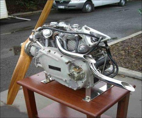 HRD VINCENT   AIRCRAFT ENGINE ~ Grease n Gasoline   marketing social media   Scoop.it