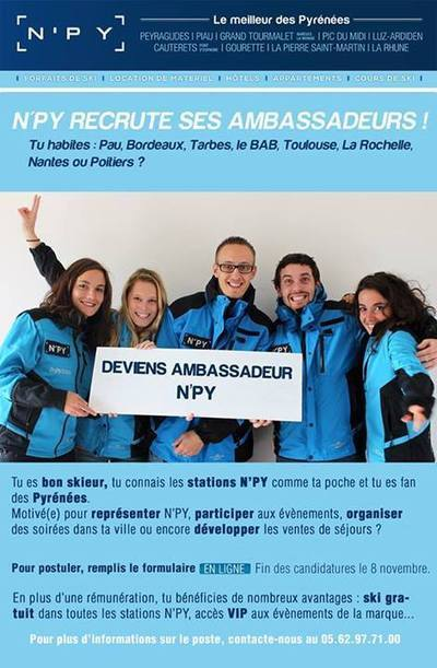 N'PY recrute ses ambassadeurs | Pratique Glisse | Scoop.it