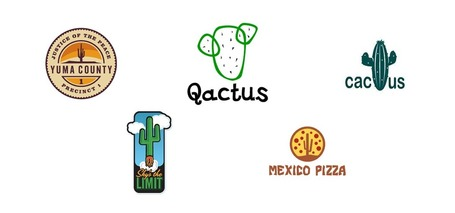 Logo Design: Cactuses | Abduzeedo | Graphic Design Inspiration ... | timms brand design | Scoop.it