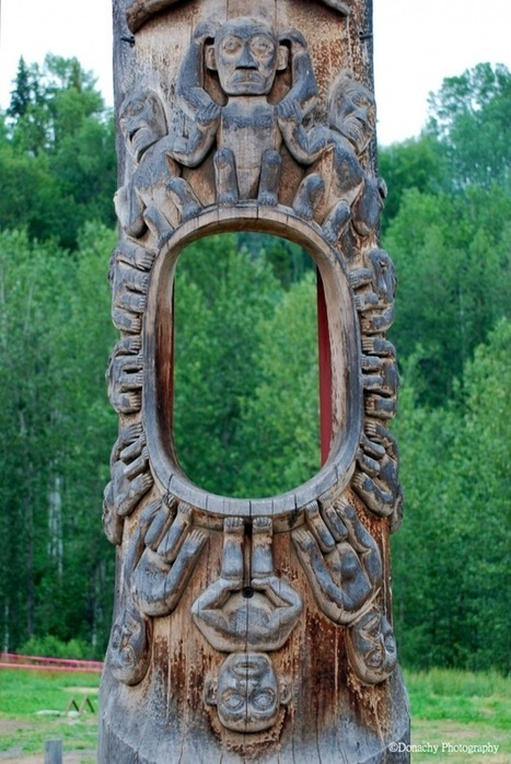 Totem Poles at Gitanyow « Frozen Moments | Art and Mystic | Scoop.it