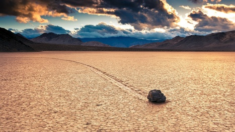 Finally! Secret of Death Valley's 'Sailing Stones' Is Revealed   Our Earth's Geology, Minerals & Gemstones   Scoop.it