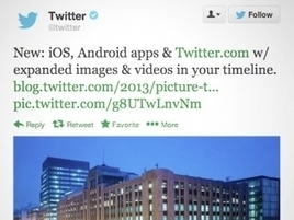 Twitter Shows Off a Richer Feed With Video, Images | Social Media Moves | Scoop.it