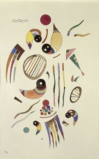 Vassily Kandinsky, Les Années Parisiennes (1933-1944), Peinture - Musée de Grenoble, Grenoble, France | Patrimoine culturel - Revue du web | Scoop.it