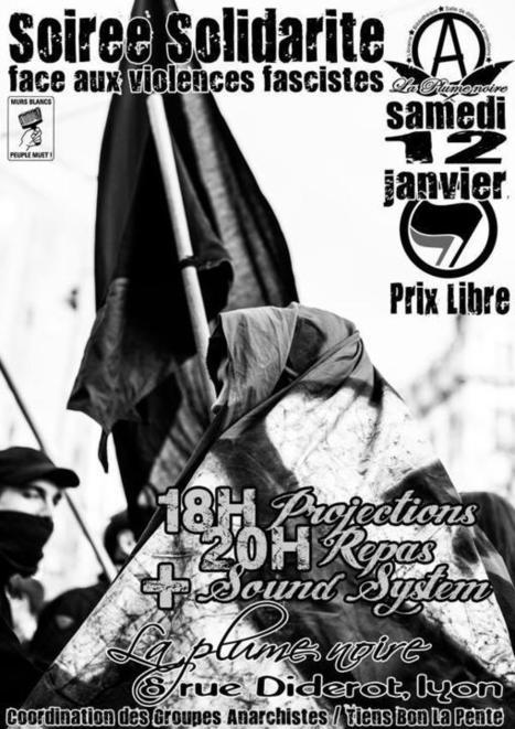 Noche de Solidaridad contra la Violencia Fascista En Lyon | Guernika Explica | Scoop.it