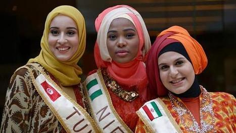 Tunisian wins Muslim beauty pageant in Indonesia, calls for free Palestine | Emergence of Islamic Consumer Power | Scoop.it