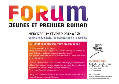 Forum jeunes et premier roman | Actualité Culturelle | Scoop.it