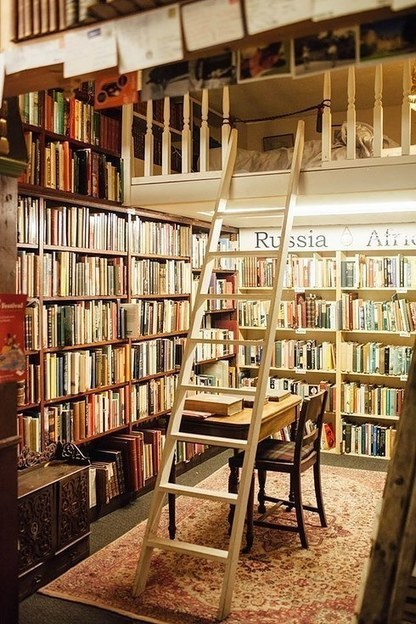 I Stayed at an Airbnb Bookshop and You Can, too | Writers & Books | Scoop.it