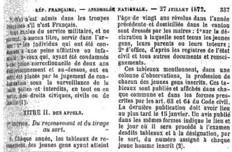 Mémoire des poilus de la Vienne: Le service militaire | Chroniques d'antan et d'ailleurs | Scoop.it