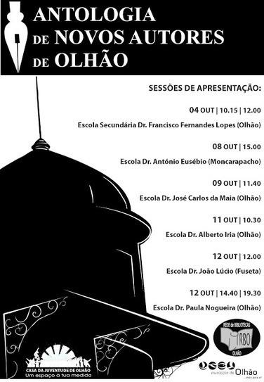 Antologia dos novos autores de Olhão | Bibliotecas Dr. Alberto Iria | Scoop.it