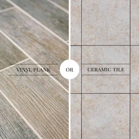 Vinyl Plank or Ceramic Tile - Which Is Better for Your Bathroom? | Tips and tricks | Scoop.it
