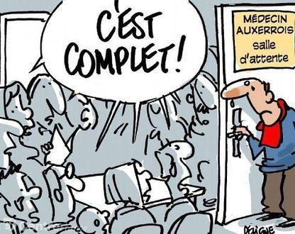 La plupart des médecins généralistes d'Auxerre ne prennent plus de nouveaux malades   Santé & Médecine   Scoop.it