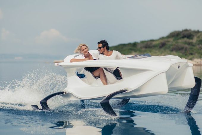 Hydro Heaven: A New Eco Friendly Quadrofoil--Sustainability as Enchanting Experience