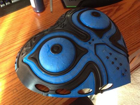 Prop Maker Uses 3D Printing to Create Astonishing Majora's Mask from 'The Legend of Zelda: Majora's Mask'   Geek Stuffs   Scoop.it
