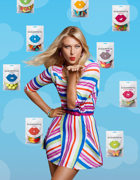 Sharapova's Gummies | Logo | Scoop.it