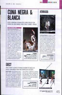 Guía del ocio - 16/11 | Festival Internacional Madrid en Danza 2012 | Scoop.it