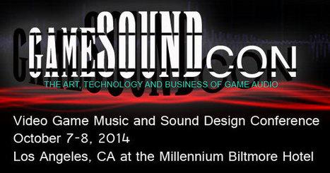 GameSoundCon Video Game Music and Sound Design Conference   Produção Musical no século XXI   Scoop.it