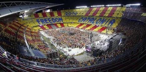 El Camp Nou se mueve al ritmo de la consulta catalana | TEMA DE PRUEBA | Scoop.it