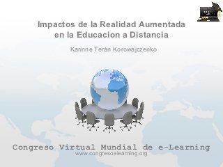 Impactos de la realidad aumentada en la educacion a distancia | Comunicación, Ubicuidad y Transmedia | REALIDAD AUMENTADA Y ENSEÑANZA 3.0 - AUGMENTED REALITY AND TEACHING 3.0 | Scoop.it