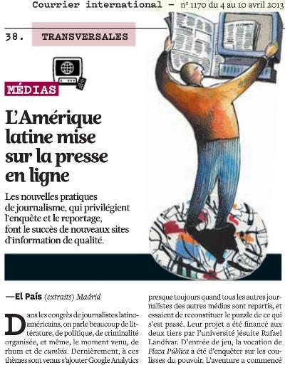 L'Amérique latine mise sur la presse en ligne | DocPresseESJ | Scoop.it