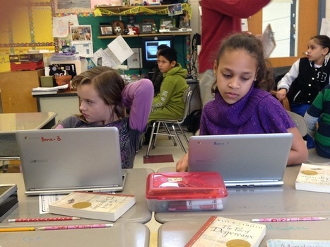 This 4th grade class uses 'Mystery Skype' and QR codes to learn geography - Technical.ly Delaware | QR Code Art | Scoop.it