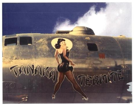 Tanaka Termite | WW2 Bomber - Nose Art | Scoop.it