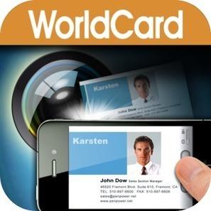 Business Card Scanning Apps: iPad/iPhone Apps AppGuide | Slimmer werken en leven - tips | Scoop.it