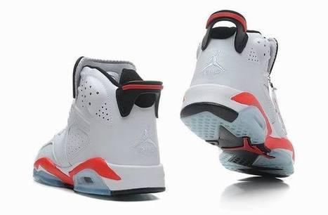 Air Jordan 6 White Infrared for Sale Online | Nike Air Jordans | Scoop.it