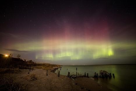 #Aurore boréale cette nuit, même au #Danemark, elle était belle !! | Hurtigruten Arctique Antarctique | Scoop.it