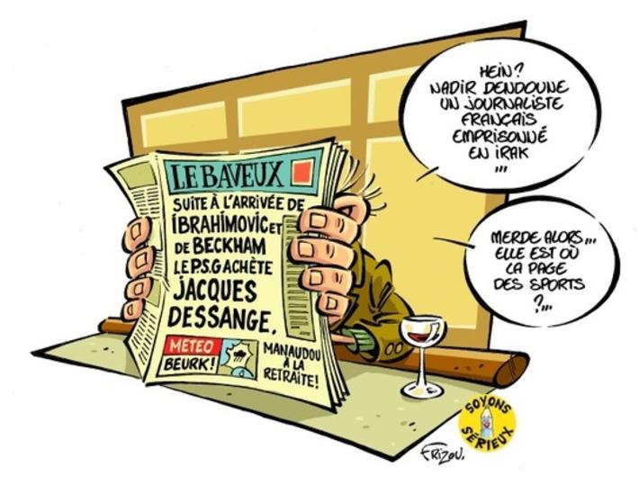 Nadir Dendoune, un journaliste français emprisonné en Irak.   Baie d'humour   Scoop.it