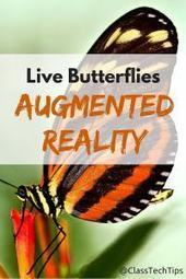 Live Butterflies Augmented Reality Experience - Class Tech Tips | Aprendiendo a Distancia | Scoop.it
