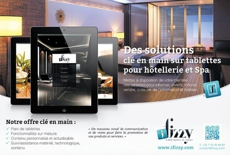 Innovant: une solution digitale clé en main sur tablettes pour l'hôtellerie et spa - Hospitality On - Hospitality HUB and hotels news | E-Tourisme Mobile | Scoop.it
