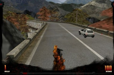 Ghost Rider - Stage3D Out of Hell   Flashstreamworks   Everything about Flash   Scoop.it