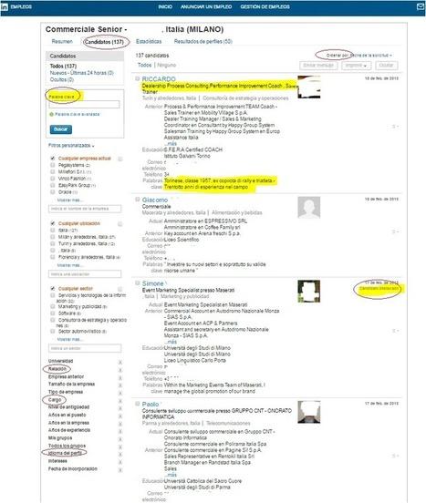 Cómo buscar trabajo en #Linkedin | Emplé@te 2.0 | Scoop.it