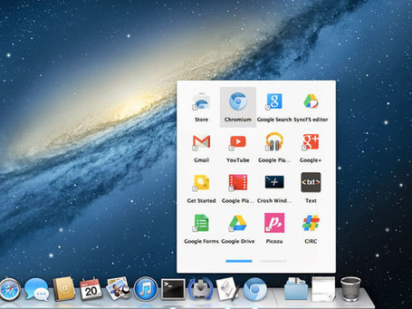 Chrome : un lanceur d'applications sur OS X | Geek in your face | Scoop.it